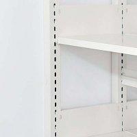 スチール棚板の上下移動する間隔(ピッチ)の商品画像