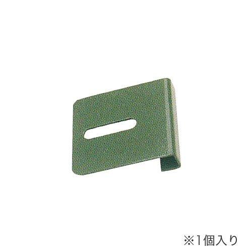 耐震防止金具 天ツナギ金具 中量スチール棚(300kg/段・500kg段)専用 1個入りのメイン画像