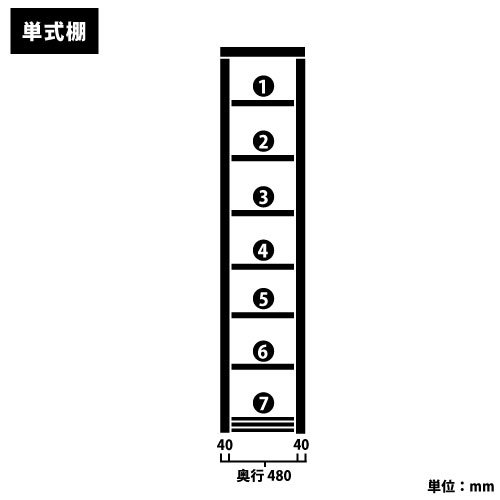 スチール書架(本棚・書棚) 単式 基本(単体棚) H2270×W940×D480(mm) B4書類対応サイズhttps://img08.shop-pro.jp/PA01034/592/product/20354675_o2.jpg?cmsp_timestamp=20160921165207のサムネイル