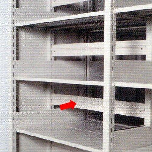 スチール書架用 背板 井上金庫(イノウエ)製 ニューグレー色のメイン画像