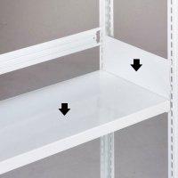 ホワイトラック 軽量書棚用(KU)用 追加棚板(W1535×D600用)の商品画像