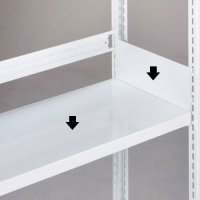 ホワイトラック 軽量書棚用(KU)用 追加棚板(W1835×D340用及びW1835×D650用)の商品画像