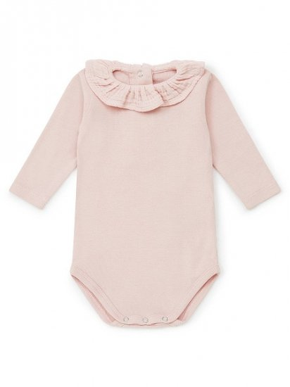<img class='new_mark_img1' src='https://img.shop-pro.jp/img/new/icons6.gif' style='border:none;display:inline;margin:0px;padding:0px;width:auto;' />BONTON BABY 襟付きロンパース ピンク