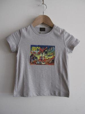 <img class='new_mark_img1' src='https://img.shop-pro.jp/img/new/icons24.gif' style='border:none;display:inline;margin:0px;padding:0px;width:auto;' />Simple Kids 半袖Tシャツ・キャラクタープリント/グレー(12,A) k *30%off* ku7