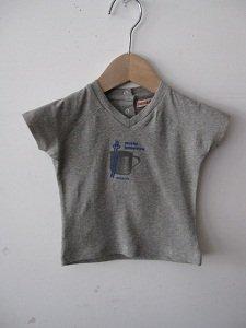 <img class='new_mark_img1' src='https://img.shop-pro.jp/img/new/icons21.gif' style='border:none;display:inline;margin:0px;padding:0px;width:auto;' />I&E BABY スナップ付きTシャツ グレー