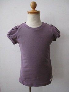letemps パフスリーブTシャツ ダスティグレープ(2Aのみ)