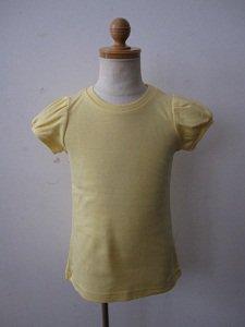 letemps パフスリーブTシャツ メロウイエロー(4,12A)
