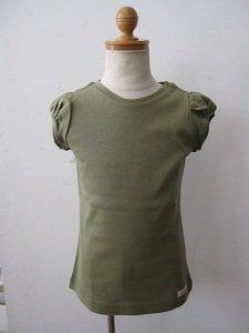 letemps パフスリーブTシャツ グリーンカーキ (4,8A)