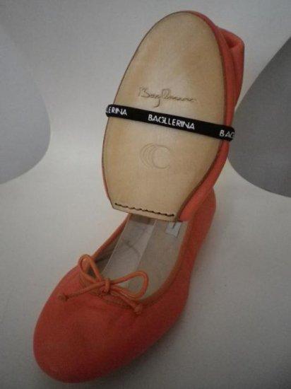 NATKIN  バレエシューズ オレンジカーフ (36,38サイズ) 1-2 ky