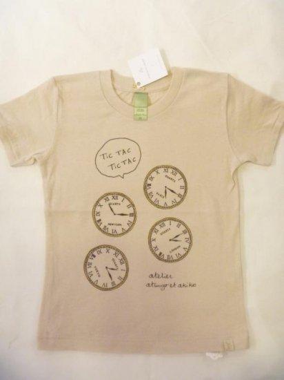 <img class='new_mark_img1' src='https://img.shop-pro.jp/img/new/icons24.gif' style='border:none;display:inline;margin:0px;padding:0px;width:auto;' />ATSUYO ET AKIKO-11 Tシャツ 時計(2Yのみ) *20%off* ku8