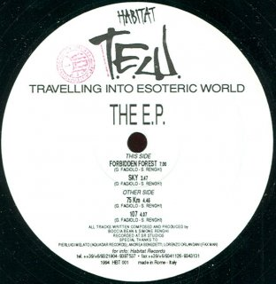 T.E.W. - Travelling Into Esoteric World The E.P.
