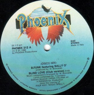 B.Funk Featuring Sally O' - Blind Love