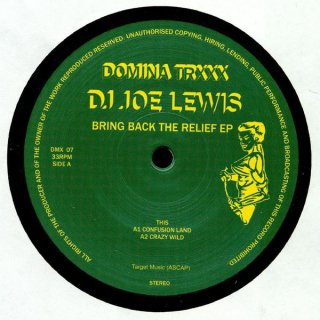 DJ Joe Lewis - Bring Back The Relief EP