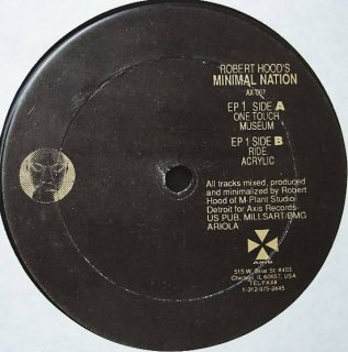 Robert Hood - Minimal Nation