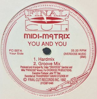 Midi-Matrix - You And You / The Moodie Trak
