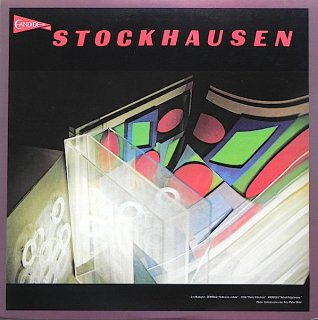 Karlheinz Stockhausen - Kontakte For Electronic Sounds, Piano And Percussion~