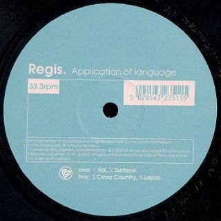 Regis - Application Of Language