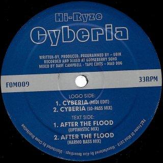 Hi-Ryze - Cyberia / After The Flood