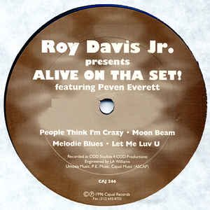 Roy Davis Jr. - Alive On Tha Set!