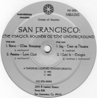 Various - San Francisco: The Magick Sounds Of The Underground