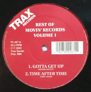 Various - Best Of Movin' Records Volume 1