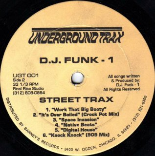 D.J. Funk 1 - Street Trax