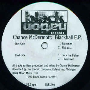Chance McDermott - Blackball E.P