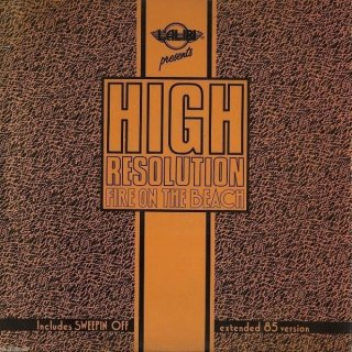 High Resolution - Fire On The Beach / Sweepin Off