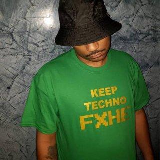 FXHE Keep Techno Tshirt -Green XL size-
