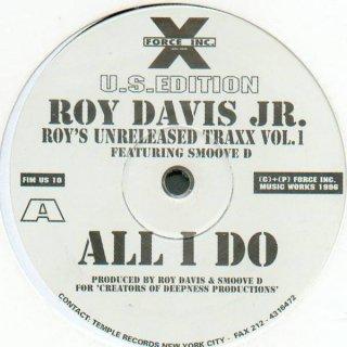Roy Davis Jr. Featuring Smoove D - Roy's Unreleased Traxx Vol. 1