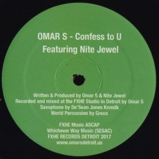 Omar S Featuring Nite Jewel - Confess To U