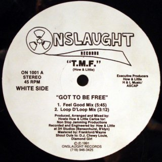 T.M.F. - Got To Be Free / Uno Funk