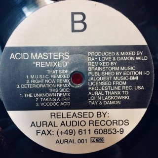 Acid Masters - Remixed