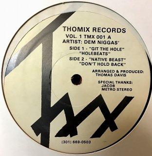 Dem Niggas - Thomix Records Vol. 1