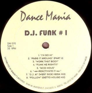 D.J. Funk #1 - Street Traxx II
