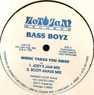 The Bass Boyz - Music Takes You Away