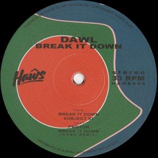 Dawl - Break It Down