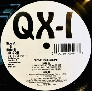 QX-1 - Love Injection