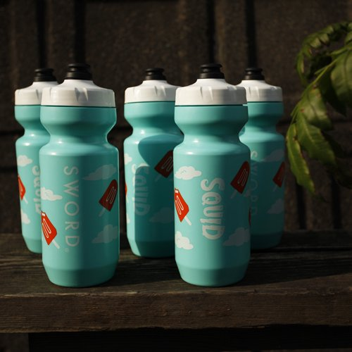 Squid Bikes / SWORD Dreamsicle Water Bottle / 22oz