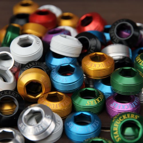 STARFUCKERS/CRANK BOLT CAP/Various Color