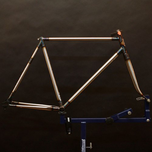 Steel Era Frame Set / Raw Finish Color