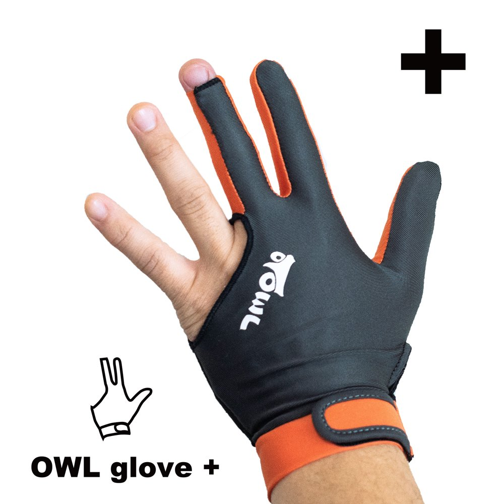 <img class='new_mark_img1' src='https://img.shop-pro.jp/img/new/icons14.gif' style='border:none;display:inline;margin:0px;padding:0px;width:auto;' />OWL glove + グレー・オレンジ