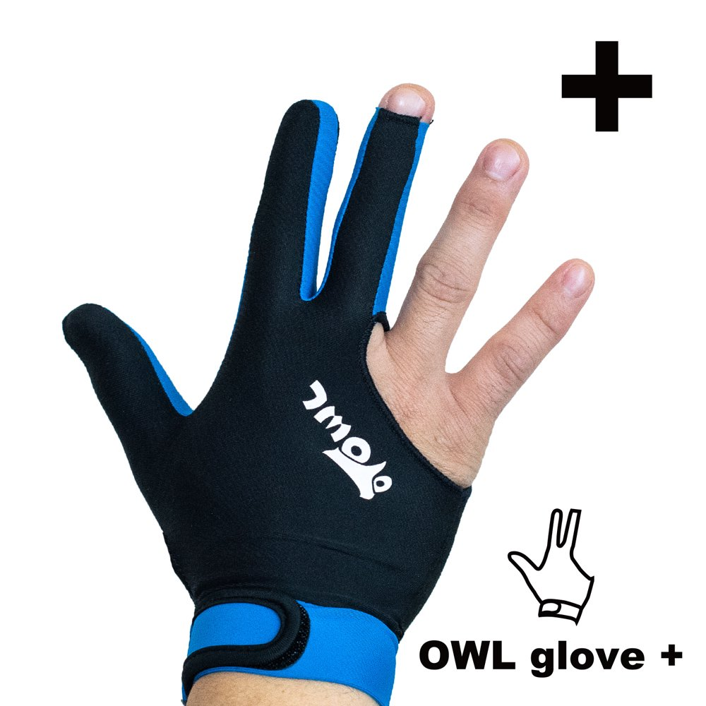 <img class='new_mark_img1' src='//img.shop-pro.jp/img/new/icons14.gif' style='border:none;display:inline;margin:0px;padding:0px;width:auto;' />OWL glove + ブラック・ブルー 左利き用
