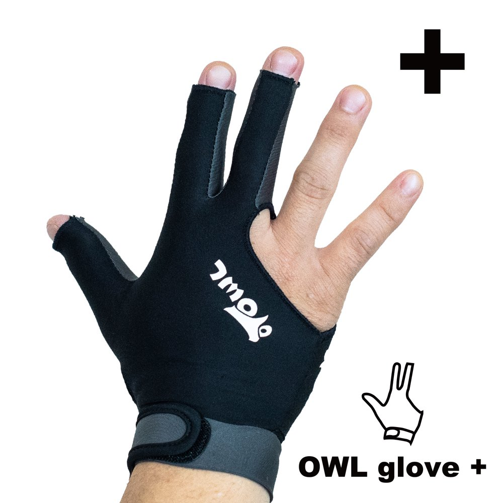 <img class='new_mark_img1' src='https://img.shop-pro.jp/img/new/icons14.gif' style='border:none;display:inline;margin:0px;padding:0px;width:auto;' />OWL glove + ブラック・グレー 左利き用