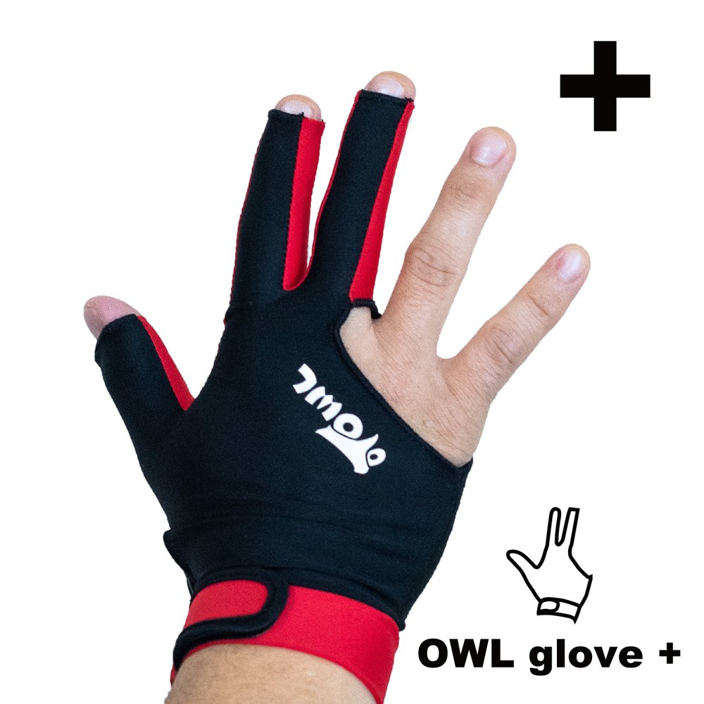 <img class='new_mark_img1' src='https://img.shop-pro.jp/img/new/icons14.gif' style='border:none;display:inline;margin:0px;padding:0px;width:auto;' />OWL glove + ブラック・レッド 左利き用