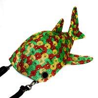 小サメ(ちいさめ)ショルダーバッグ 畳縁ver.