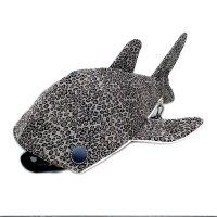 小サメ リュック 畳縁ver./豹柄 受注生産