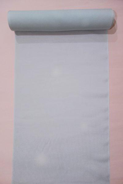 WEB限定【D-1233】絽 小紋反物 灰青色 万筋に蛍暈かし