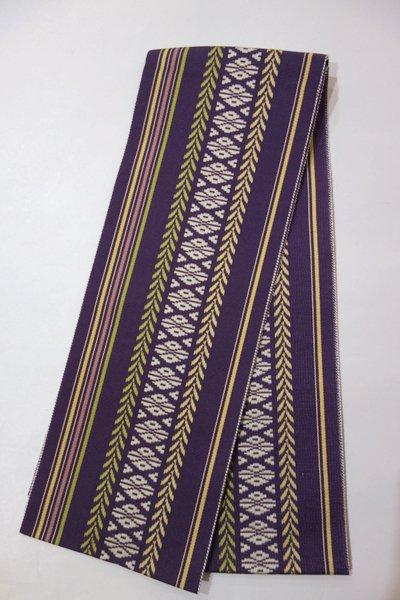【G-715】博多織 伊達締め 滅紫色(新品)
