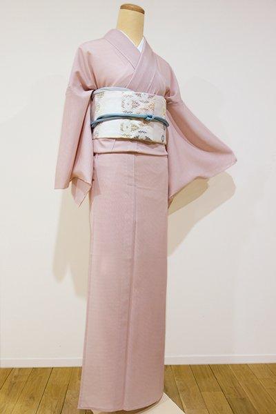 世田谷【C-1035】絽 江戸小紋 桜色 行儀 (新品・しつけ付)
